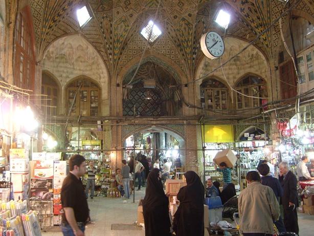 Teheran, la gloria del bazar