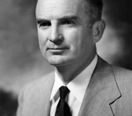 Il vice presidente William Stuart Symington