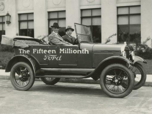 Automobili USA, 1900/1960